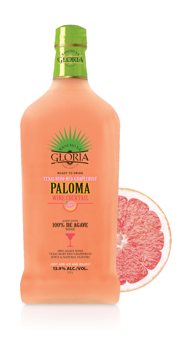 Paloma Wine Cocktail Ruby Red Grapefruit bottle