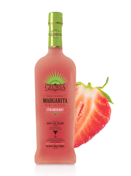 A bottle of Strawberry Wine
